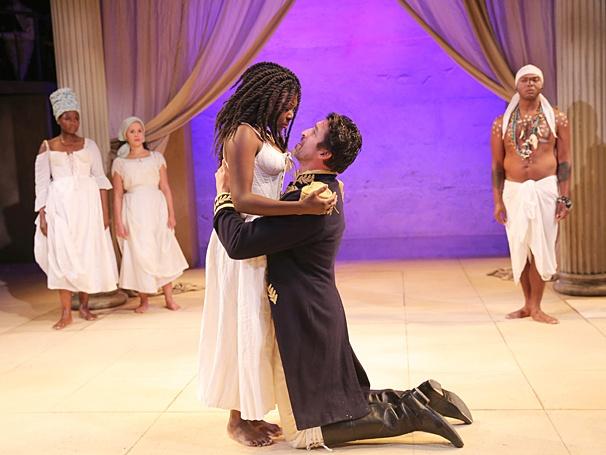 Antony and Cleopatra - Show Photos - PS - Joaquina Kalukango - Jonathan Cake