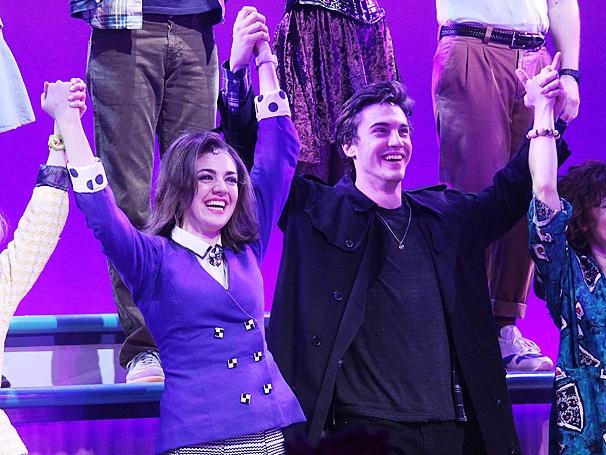 Broadway Com Photo 1 Of 43 Big Fun On Opening Night Of Heathers