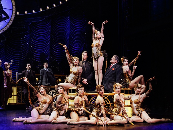 Bullets Over Broadway - Show Photos - PS - 4/14 - Nick Cordero - Helene Yorke - Vincent Pastore