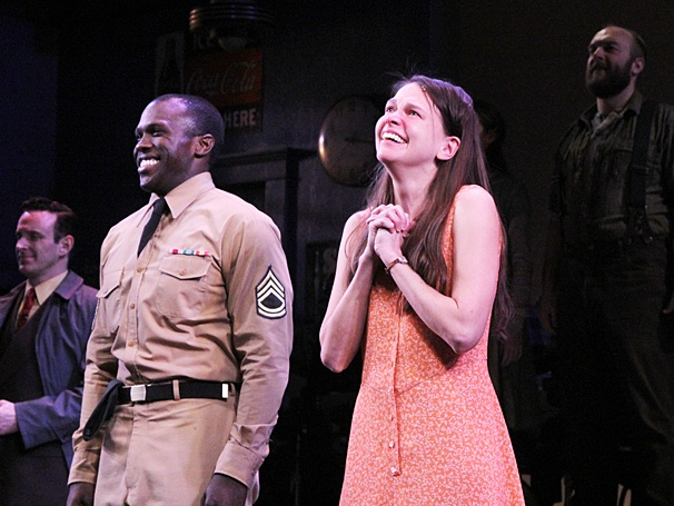 Violet Broadway opening - cc - Joshua Henry - Sutton Foster