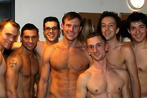 Photo Op - Spencer Quest opens in Naked Boys Singing! - Spencer Quest - with the guys