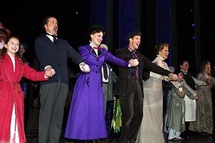 Photo Op - Mary Poppins Opening - cc - cast