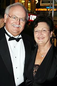 Photo Op - Mary Poppins Opening - parents of Ashley Brown