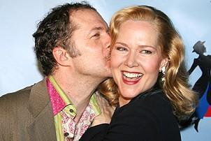 Photo Op - Mary Poppins Opening - Daniel Jenkins - Rebecca Luker (kiss)