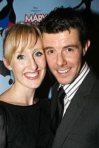 Photo Op - Mary Poppins Opening - Gavin Lee - (wife) Emily