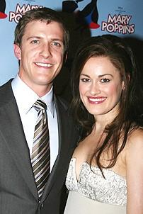 Photo Op - Mary Poppins Opening - Ashley Brown - Patrick Heusinger