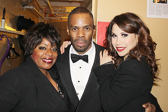 Chicago fan day - LaVon Fisher-Wilson - Colman Domingo- Bianca Marroquin