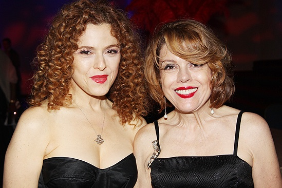 <i>Follies</i> opening night – Bernadette Peters – sister