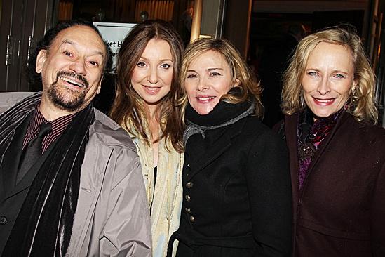 Cynthia Nixon Opening Night of Wit – Shawn Eliot – Donna Murphy – Kim Cattrall – Leila Robbins