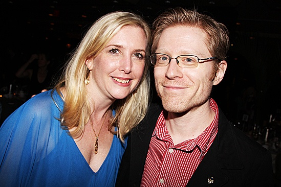 Jesus Christ Superstar opening night – Lisa Shriver – Anthony Rapp