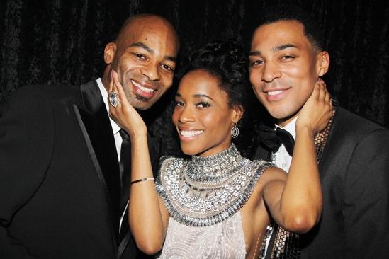 'Motown' Opening Night — Brandon Victor Dixon — Valisia LeKae — Charl Brown