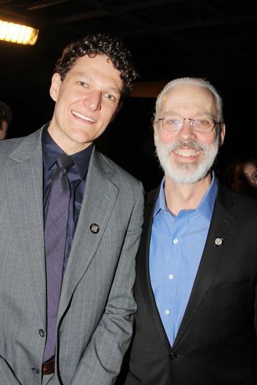 2013 Tony Nominee Brunch — Gabriel Ebert — Terrence Mann
