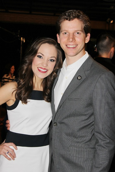 2013 Tony Nominee Brunch — Laura Osnes — Stark Sands