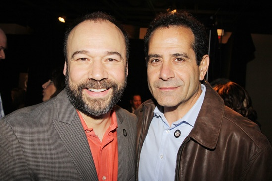 2013 Tony Nominee Brunch — Danny Burstein — Tony Shalhoub