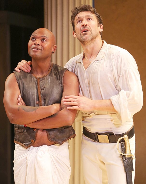 Antony and Cleopatra - Show Photos - PS - Chivas Michael - Jonathan Cake