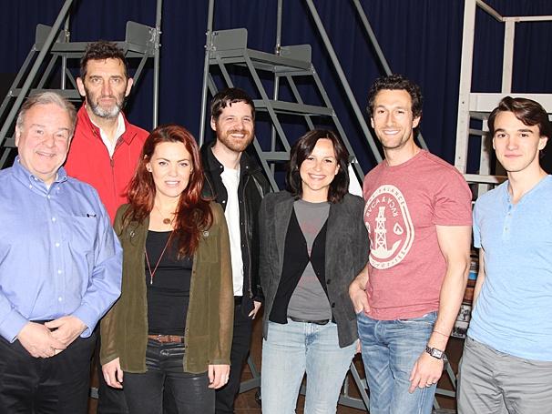 The Last Ship - Meet & Greet - OP - 4/14 - Fred Applegate - Jimmy Nail - Rachel Tucker - Michael Esper - Sally Ann Triplett - Aaron Lazar - Collin Kelly-Sordelet