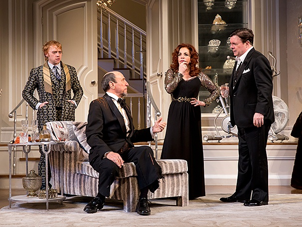 It's Only a Play - SHow Photos - 10/14 - Rupert Grint - F. Murray Abraham - Stockard Channing - Nathan Lane