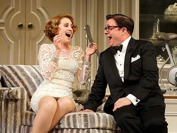 It's Only a Play - SHow Photos - 10/14 - Megan Mullally - Nathan Lane