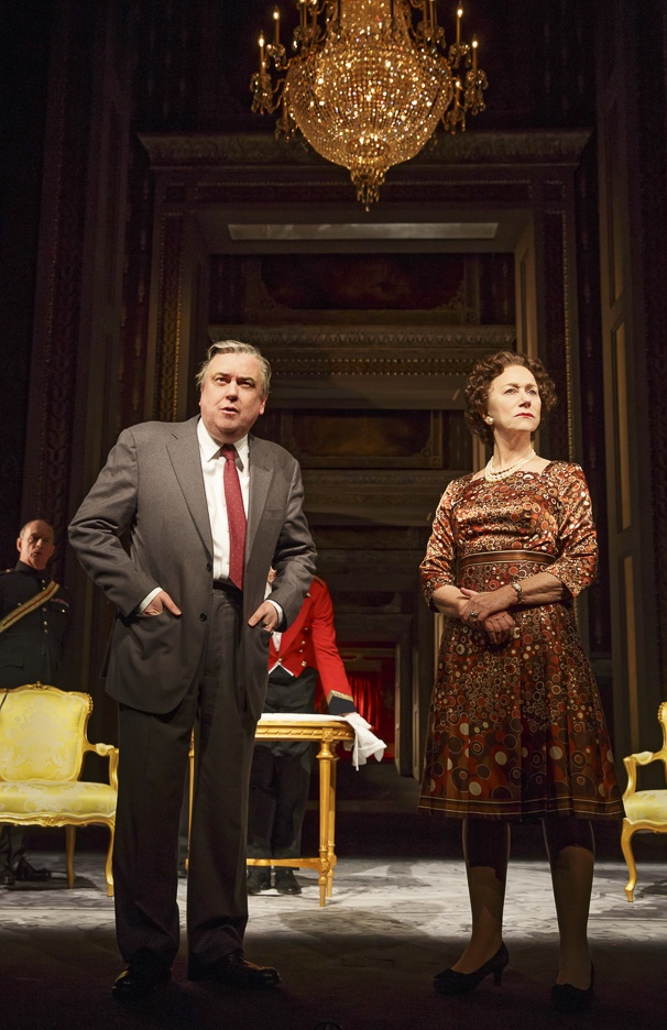 The Audience - Show Photos - 2/15 - Richard McCabe - Helen Mirren