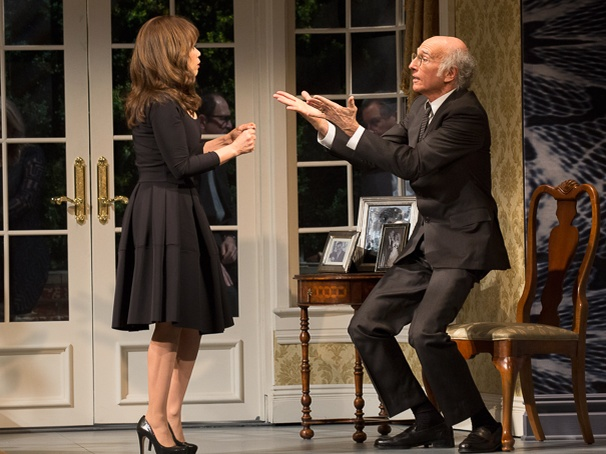 Fish in the Dark - SHow Photos - 2/15 - Rosie Perez - Larry David
