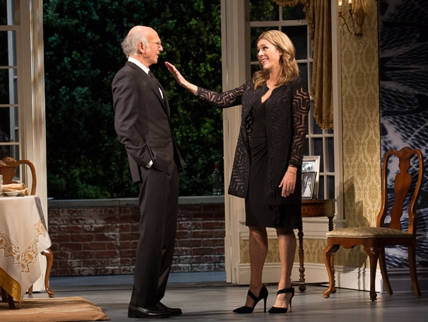 Fish in the Dark - SHow Photos - 2/15 - Larry David - Rita Wilson