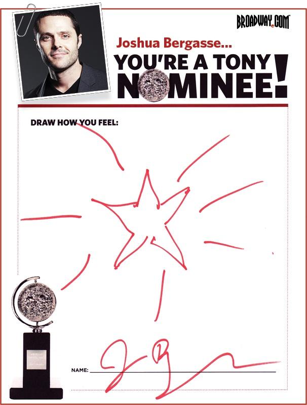 Tony Nominee Drawings – 2015 – Joshua Bergasse