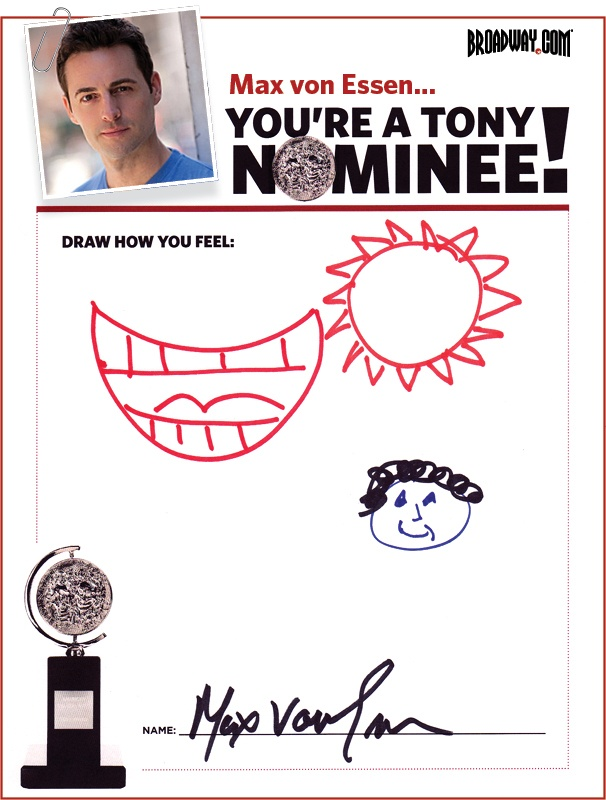 Tony Nominee Drawings – 2015 – Max von Essen