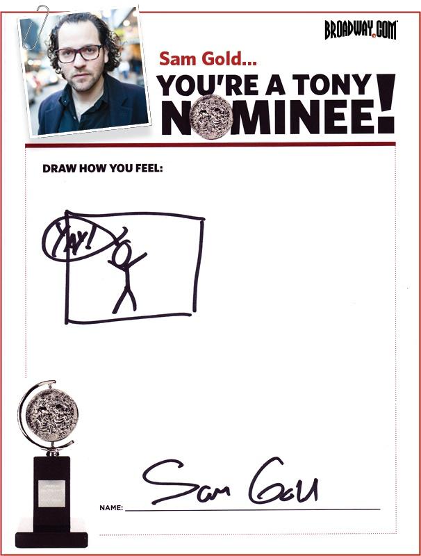 Tony Nominee Drawings – 2015 – Sam Gold