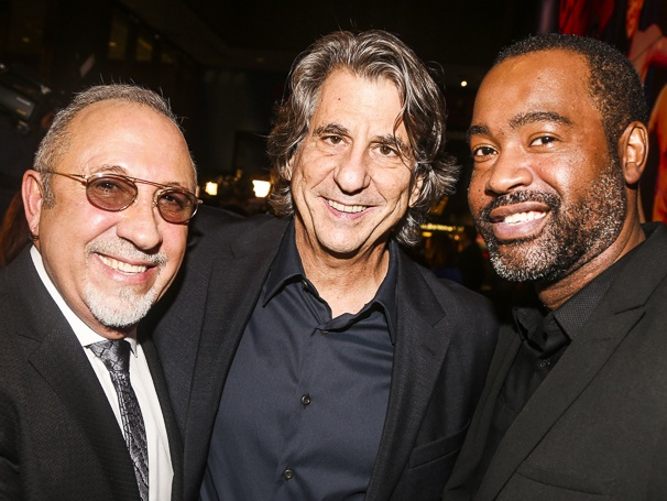 On Your Feet! - Opening - 11/15 - Emilio Estefan, set designer David Rockwell and costume designer ESosa