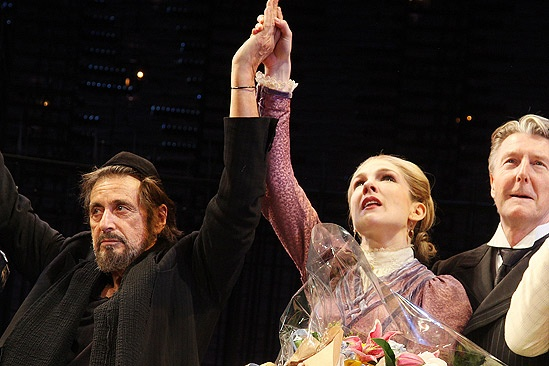 Merchant of Venice Opening night – Al Pacino – Lily Rabe – Byron Jennings
