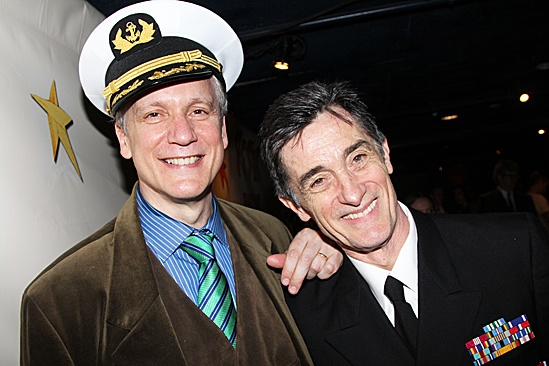 Peter and the Starcatcher Opening Night – Rick Elice – Roger Rees