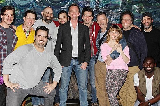 Neil Patrick Harris & More at Starcatcher – Peter and the Starcatcher cast - Neil Patrick Harris