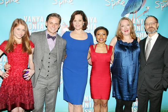 'Vanya and Sonia and Masha and Spike' Opening — Billy Magnussen — Genevieve Angelson — Sigourney Weaver — David Hyde Pierce — Kristine Nielsen — Shalita Grant
