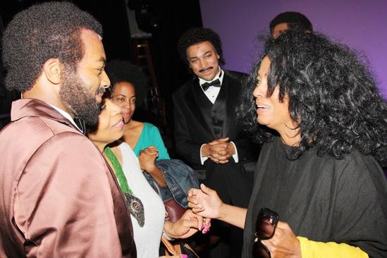 Diana Ross at 'Motown' — Brandon Victor Dixon — Diana Ross