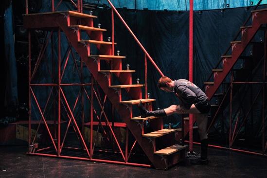 Pippin – Backstage Photos – Preston Jamieson
