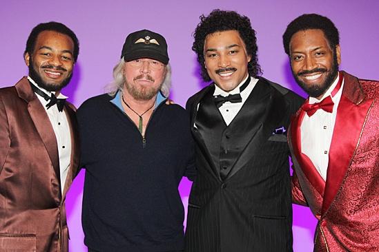 Motown - OP - Brandon Victor Dixon - Barry Gibb - Charl Brown - Bryan Terrell Clark