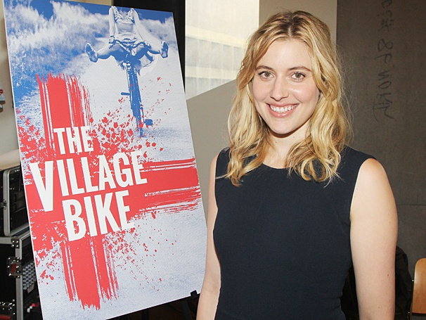 The Village Bike - Meet the Press - OP - 4/14 - Greta Gerwig