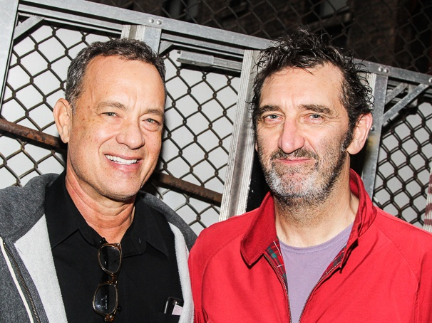 THe Last Ship - Backstage - 10/14 - Tom Hanks - Jimmy Nail