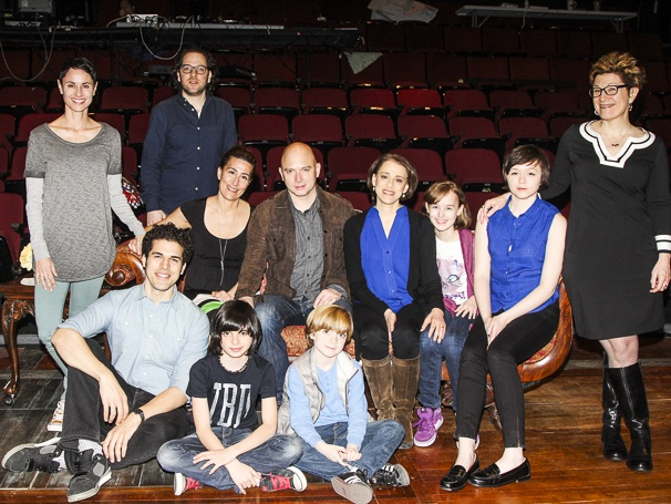 Broadway com | Photo 1 of 8 | Photos! The Cast of Fun Home Opens Its