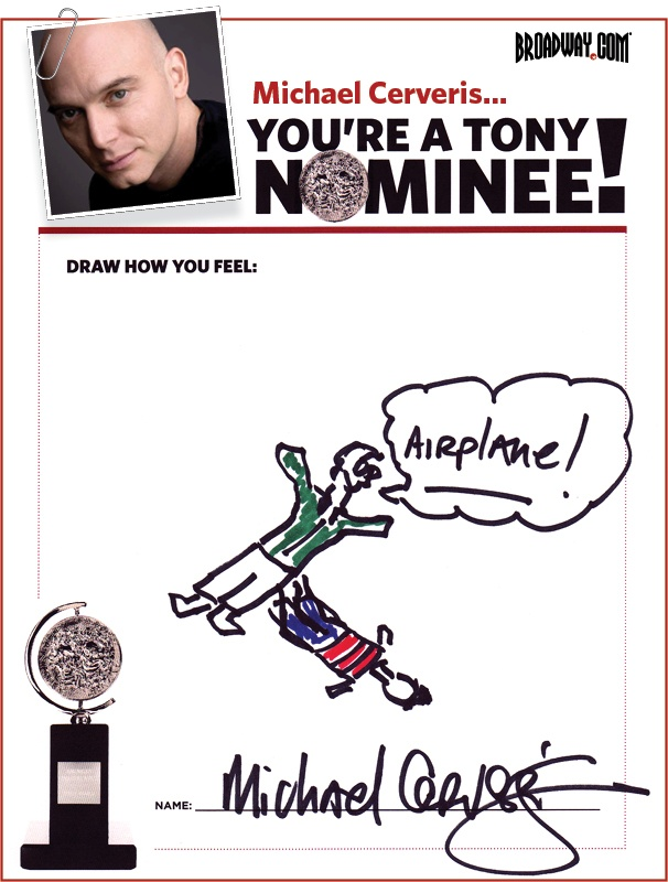 Tony Nominee Drawings – 2015 – Michael Cerveris
