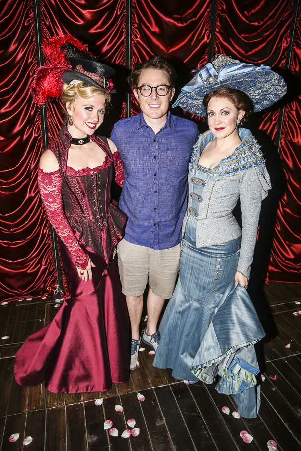 A Gentleman's Guide to Love and Murder - Backstage - 6/15 - Scarlett Strallen - Catherine Walker - Clay Aiken