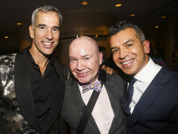 On Your Feet! - Opening - 11/15 - Jerry Segarra, Jack O'Brien and Sergio Trujillo