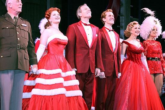 The Cast Of White Christmas.Broadway Com Photo 1 Of 53 White Christmas S Broadway