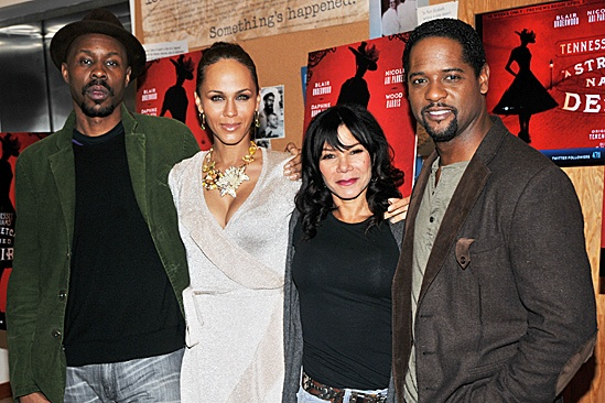 A Streetcar Named Desire Meet and Greet – Wood Harris – Nicole Ari Parker – Daphne Rubin-Vega – Blair Underwood