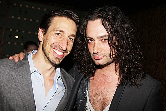 Peter and the Starcatcher Opening Night – Adam Zotovich – Constantine Maroulis