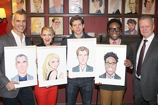 Kinky Boots at Sardi's – Jerry Mitchell – Annaliegh Ashford – Stark Sands – Billy Porter
