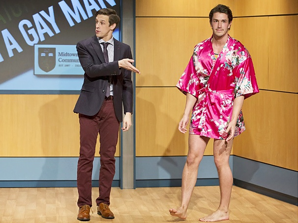 Sex Tips for Straight Women from a Gay Man - show photos - Jason Michael Snow - Andrew Brewer