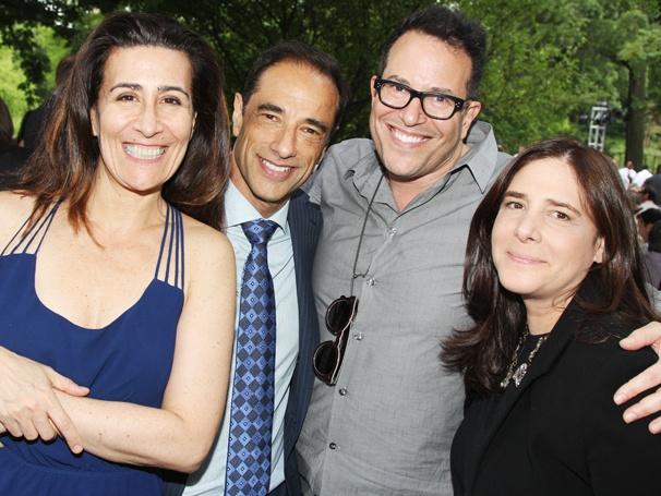 Public Theater Gala - 2014 - OP - 6/14 - Jeanine Tesori - Hal Luftig - Michael Mayer - Dori Bernstein