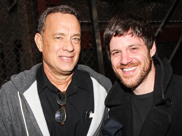 THe Last Ship - Backstage - 10/14 - Tom Hanks - Michael Esper