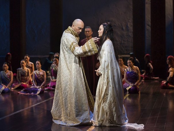 The King and I - Show Photos - 4/15 - Ken Watanabe - Ashley Park